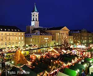 Weihnachtsstadt Karlsruhe Festliches Flair Fasziniert