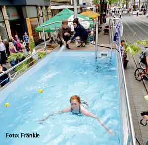 Stliche kaiserstra e seecontainer als sommer attraktion stadtzeitung vom teil 3 - Pool auf rasen stellen ...