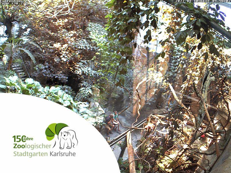 Zoologischen Stadtgarten - Exotenhaus