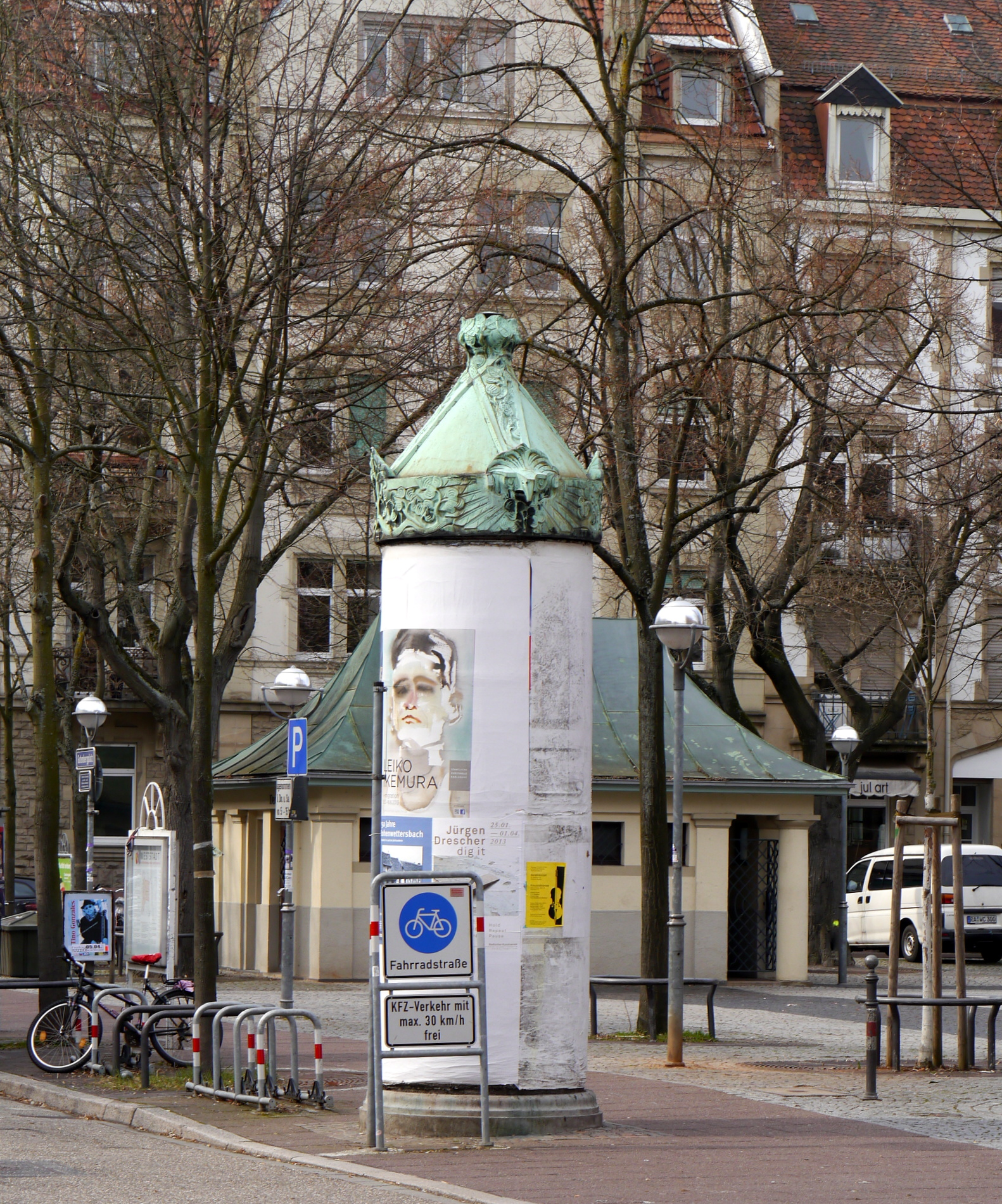Gutenbergplatz Karlsruhe Markt