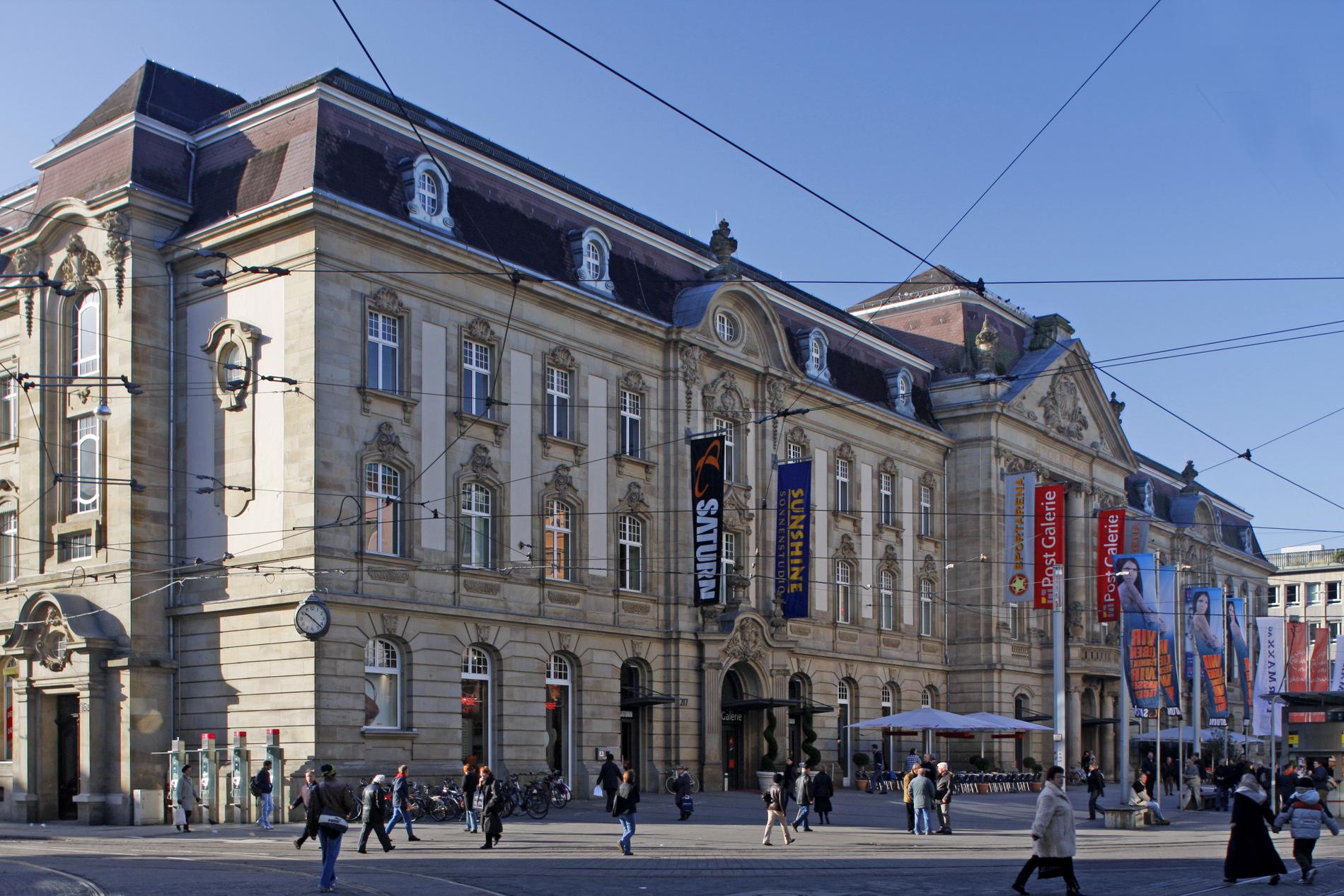 Karlsruhe kulturdenkmal kaiserstr 217 - Architektur karlsruhe ...